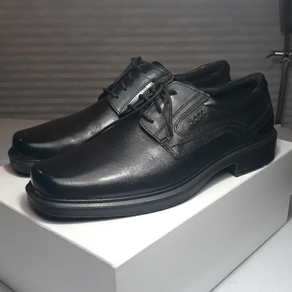 Ecco Size 44us 1 Helsinki Plain Toe Tie